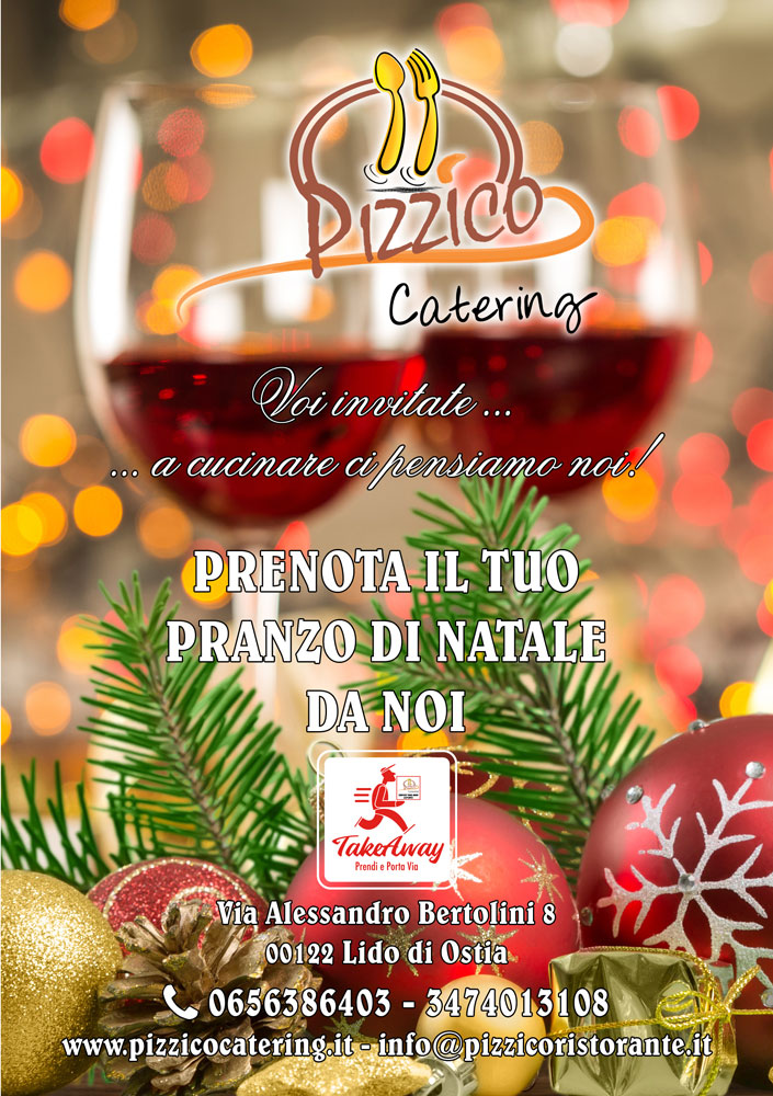 menu natalizio pizzico catering